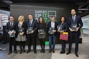 Los empleos en el sector IT crecerán un 40% en España