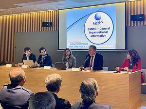 CANSO y ENAIRE se reunen para promover su colaboración y discutir los desafíos que enfrenta la aviación europea