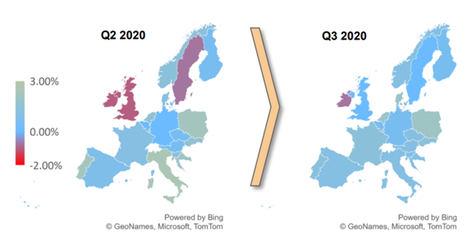 Evolución de los precios de la vivienda en Europa: sensibles a la duración y la gravedad de la pandemia