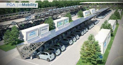 Se pone en marcha en Mirafiori el proyecto piloto Vehicle-to-Grid de FCA y ENGIE Eps