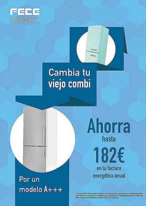 FECE lanza nuevos carteles sobre el ahorro energético en electrodomésticos eficientes