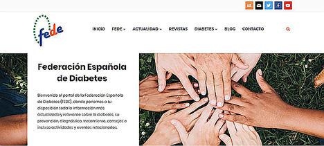 La nueva web de la Federación Española de Diabetes da respuesta a las necesidades del paciente 2.0