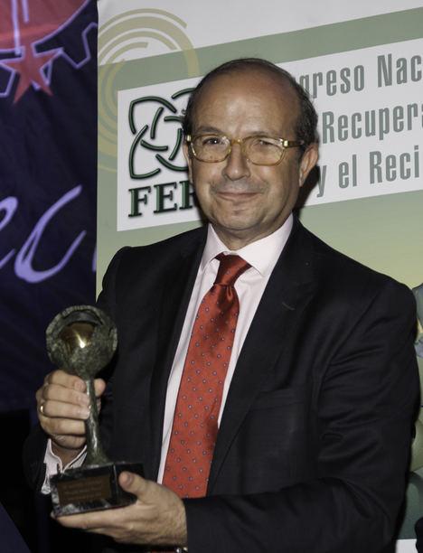 FER concede a Daniel Calleja el premio 'Madre Tierra