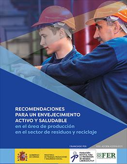 FER presenta una aplicación móvil y un folleto sobre criterios saludables para el envejecimiento activo en el sector de residuos
