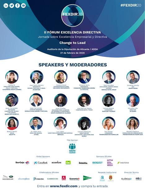 Deliveroo, Accenture, AliExpress, Google Cloud o Barceló Hotel Group se dan cita en Alicante para debatir sobre transformación tecnológica y sostenibilidad