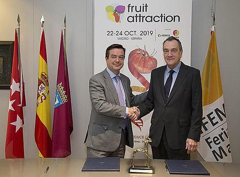 IFEMA y FEPEX reafirman su compromiso para dar continuidad a la organización conjunta de FRUIT ATTRACTION