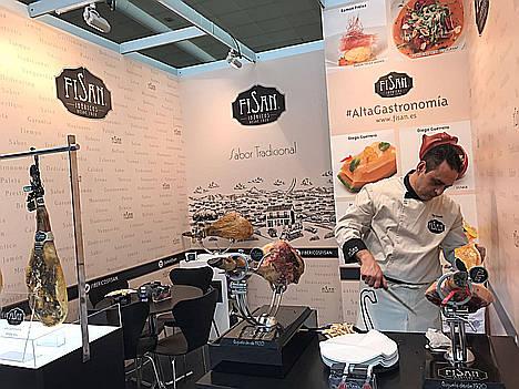 Fisan presenta en Madrid Fusión las añadas 2013 y 2014 de su jamón de bellota gran reserva