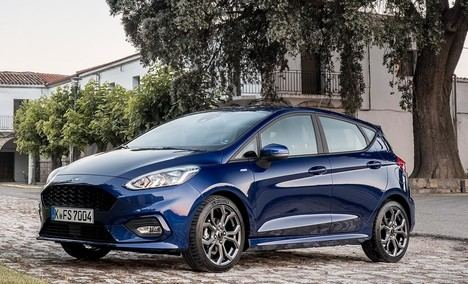 Ford Fiesta 1.0 EcoBoost MHEV ST Line