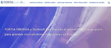 FORTIA ENERGIA y Statkraft firman el primer PPA a largo plazo para grandes consumidores industriales en España