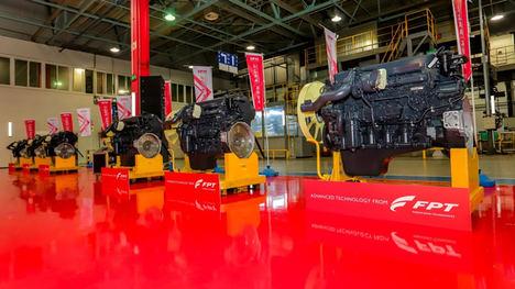 SFH - La empresa conjunta de FPT Industrial en China - establece el registro de producción de motor