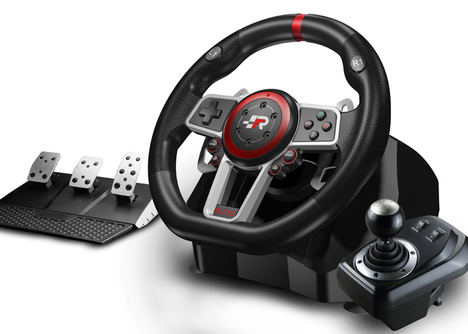 FR-TEC pone a la venta el Suzuka Driving Wheel Elite, el volante estrella para los aficionados a los juegos de conducción