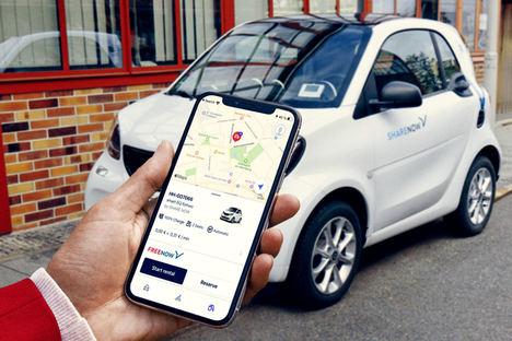 FREE NOW suma 600 coches compartidos de SHARE NOW en su app en España