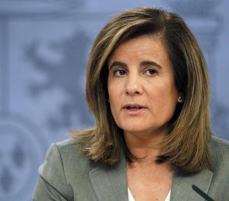 Fátima Báñez afirma que los ingresos de la Seguridad Social crecen por encima de los gastos por primera vez desde 2008
