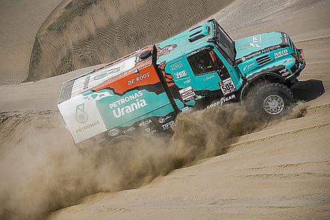 FPT Industrial se calienta para el rally en Arabia Saudita