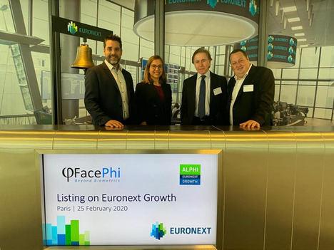 FacePhi comienza a cotizar en el Euronext Growth de la mano de la división de Capital Markets de Fellow Funders