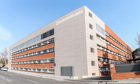Fachada del hospital HLA Universitario Moncloa Madrid, uno de los centros del Grupo HLA que ha atendido a un mayor número de pacientes.