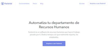 La startup española Factorial cierra su primera ronda de inversión por 500.000 euros