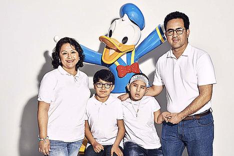 Familia de Paula Alvarado Mendoza.