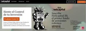 Feelcapital 50, el fondo de pensiones asesorado con tecnología robótica más barato del mercado