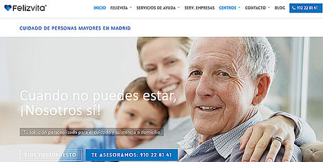 Felizvita crece un 30% y se consolida como empresa de referencia de asistencia domiciliaria en Madrid