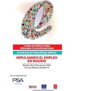 El Grupo PSA participa con éxito en la feria de empleo para personas con discapacidad