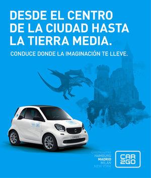car2go apuesta por la cultura con su apoyo a la Feria del Libro de Madrid