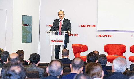 Fernando Mata, director general corporativo Financiero (CFO) de MAPFRE.