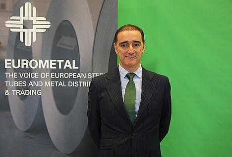 Fernando Espada, nuevo presidente de EUROMETAL