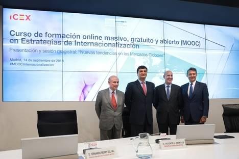 ICEX-CECO presenta el primer curso online masivo y gratuito (MOOC) sobre estrategias de internacionalización