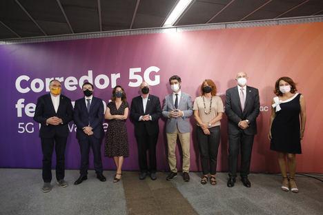 Ferrocarriles de la Generalitat de Catalunya estrena uno de los primeros laboratorios ferroviarios 5G del mundo