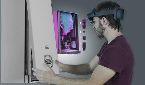 Ferroli innova en el mundo del la calefacción con la nube y la Realidad Mixta de Microsoft