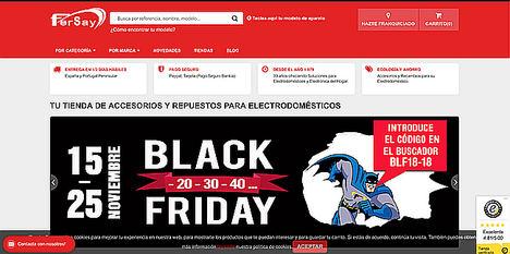 Fersay.com rompe moldes en su campaña de celebración del Black Friday