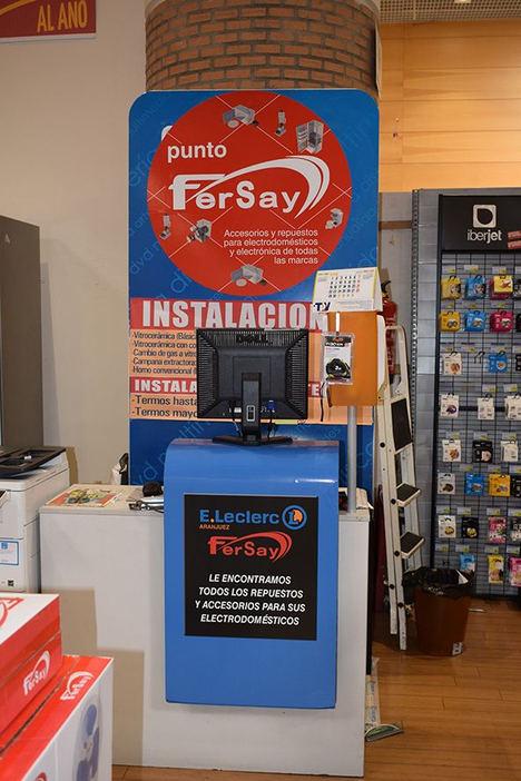 La cadena de distribución Fersay inaugura oficialmente su córner en el centro E´Leclerc de Aranjuez