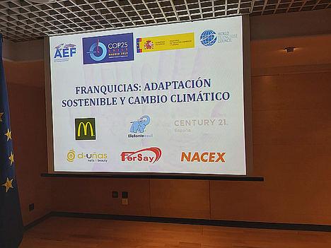 Fersay participa como ponente en la cumbre del clima en el Ministerio de Industria
