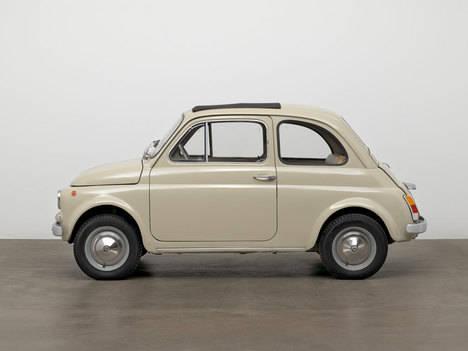 El Fiat 500 adquirido por el Museo de Arte Moderno de Nueva York