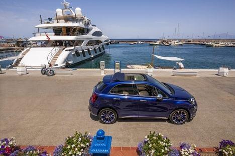 Nuevo Fiat 500X Yachting por primera vez en versión descapotable