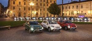 El nuevo FIAT 500X alumbra Turín