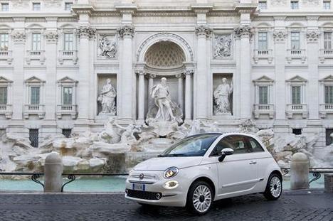 Edición especial, Dolcevita, del Fiat 500