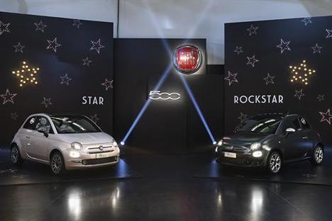 Fiat 500 Star y 500 Rockstar