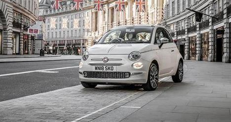 Récord del Fiat 500