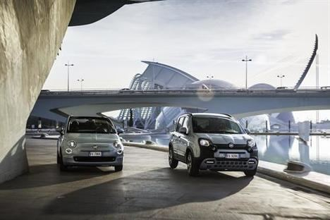 Fiat 500 y Panda Hybrid con Pack D-Fence