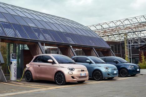 El Fiat 500e lleva el estilo de vida mediterráneo a la Feria de Vehículos Eléctricos
