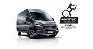"El Fiat Ducato elegido ""Fleet Van of the Year 2017"""