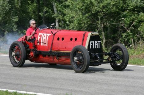 Fiat Mefistofele, el demonio sobre ruedas