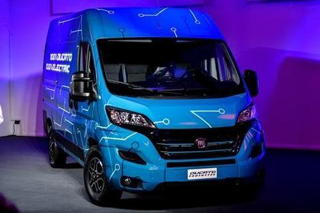 Debut mundial del Fiat Ducato Electric