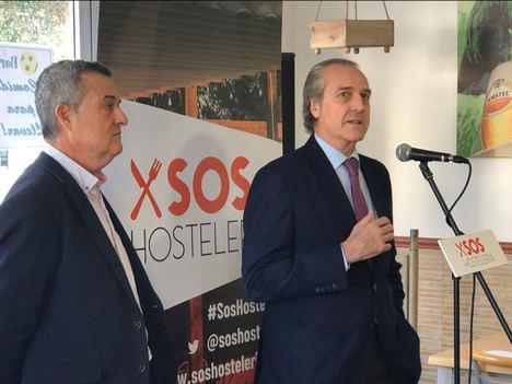 Nace la plataforma SOS Hostelería para defender el sector hostelero y del recreativo de los efectos de la nueva Ley del Juego que se está tramitando en la Comunidad Valenciana