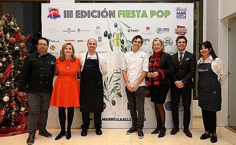 La Fiesta POP 2019 by Marbella All Stars acogió cerca de un centenar de propuestas gourmets para Navidad