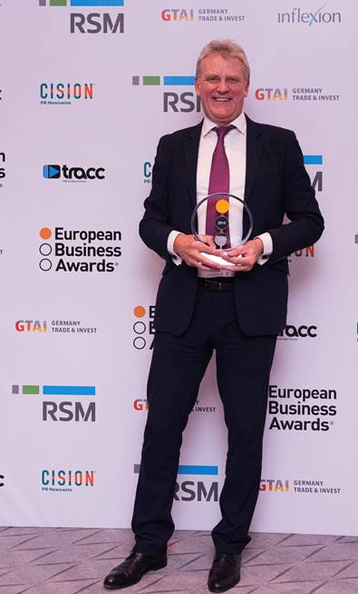 Macsa ID gana el premio a la innovación en los European Business Awards 2019