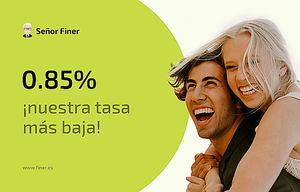 Finer.es presenta la tasa de interés más baja para los préstamos