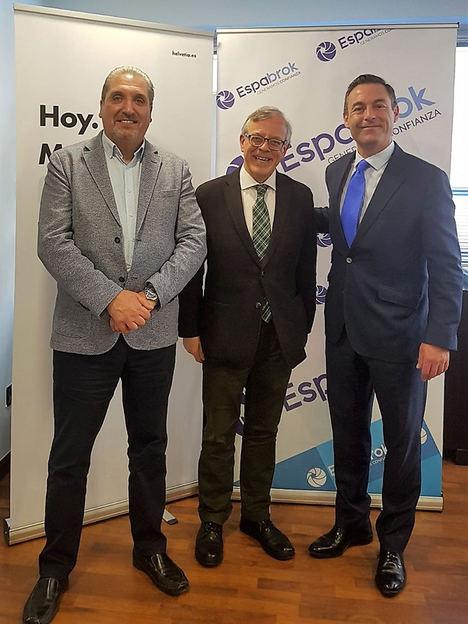 ESPABROK formaliza acuerdo de colaboración en Decesos con HELVETIA SEGUROS